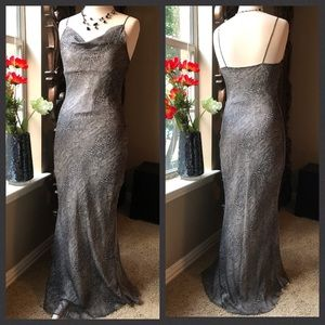 🚨4.99 ship til 530 CDT A'gaci vintage formal gown